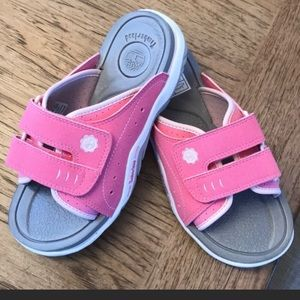TIMBERLAND PINK AND WHITE GIRLS SANDALS